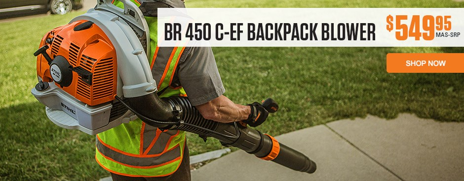 BR 450 C-EF Backpack Blower